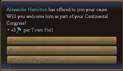 Don't invite Aaron Burr too, or there might be trouble