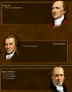 Patrick Henry would be a big boon to my bid fo independence